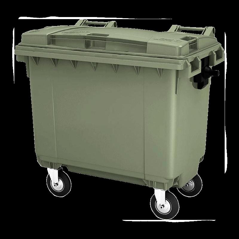 мусорный контейнер 660 литров